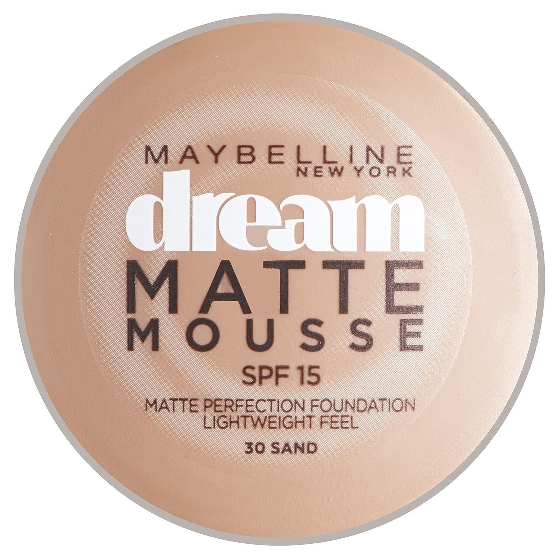 Maybelline Dream Matte Mousse fondation de la perfection - porcelaine lumière Gemey Maybelline 3600530420179