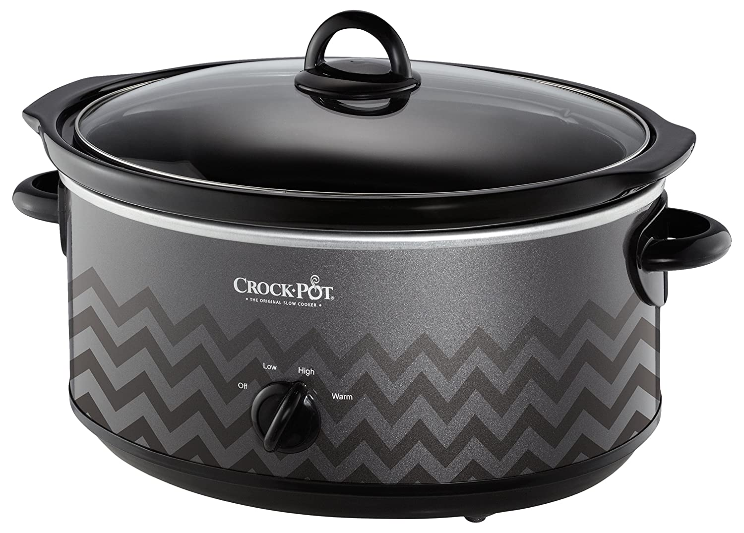 Crock-Pot SCV700-KC 7-qt. Slow Cooker(Charcoal) Crockpot SCV700-KC-