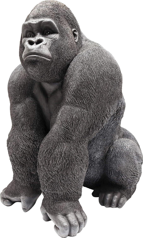 kare design Decorativo Figurine Gorilla Nero XX-Large