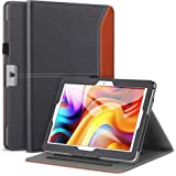 ZtotopCase PU Leather Multi-Angle Viewing Cover Compatible Dragon Touch K10 / Notepad K10 / Max10 Tablet, Lectrus 10.1…