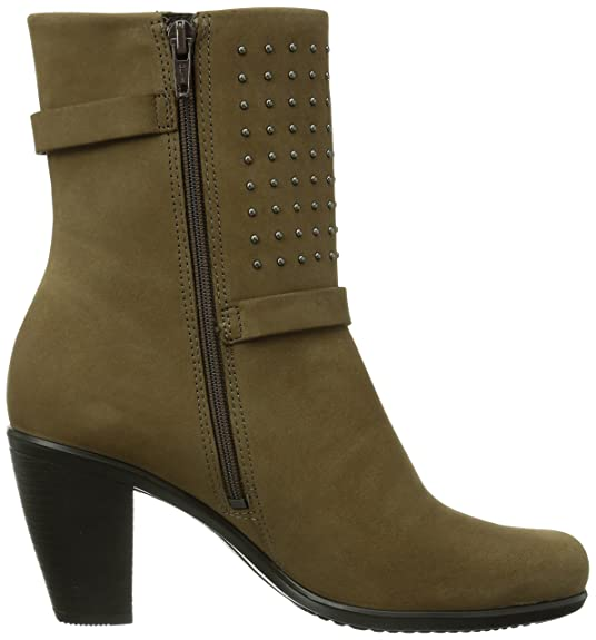ECCO Touch 75B Mid Boot amazon-shoes marroni Pelle