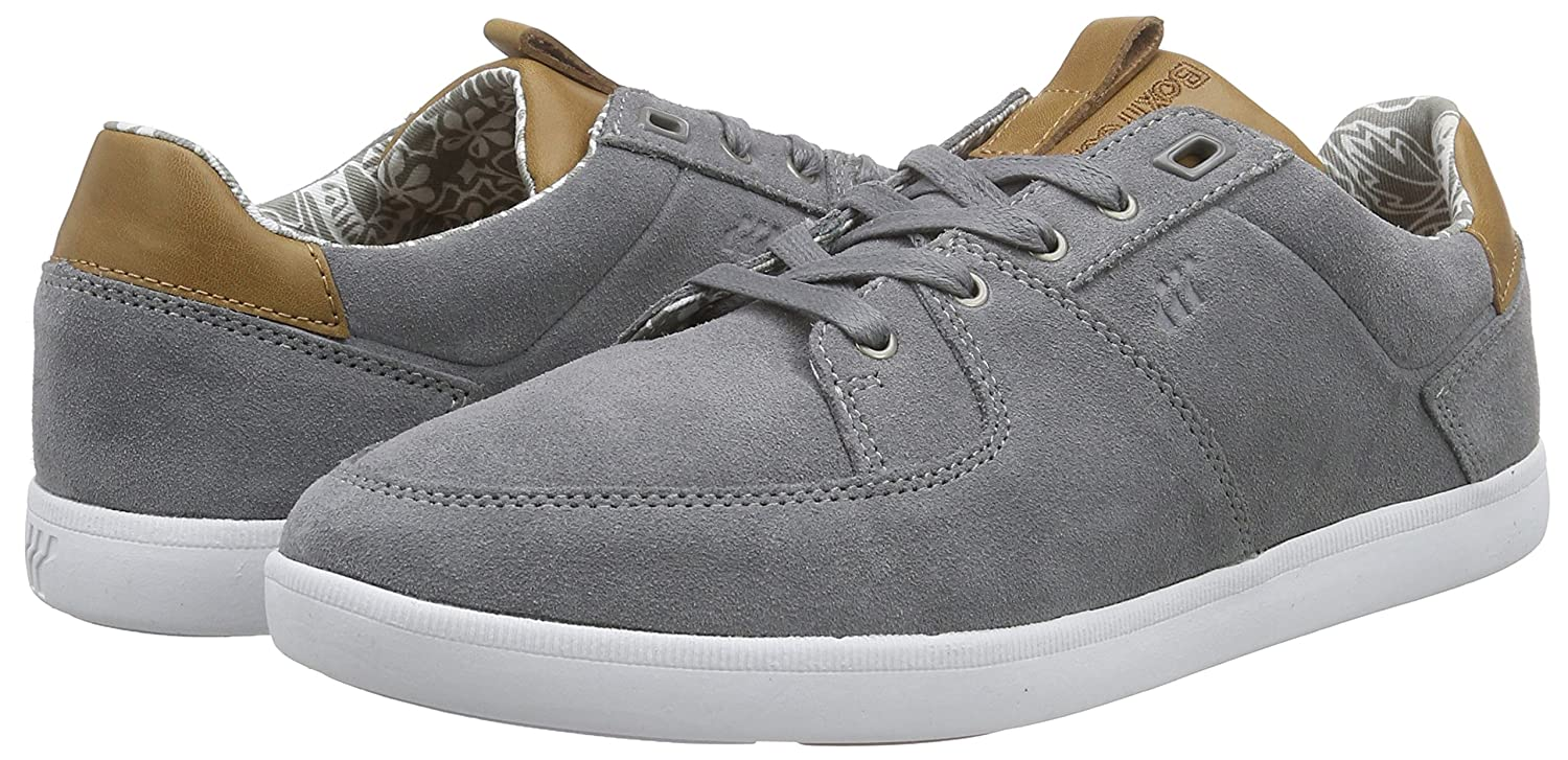 Cladd Inc SDE/Lea NVY/Tan, Mens Low-Top Sneakers Boxfresh