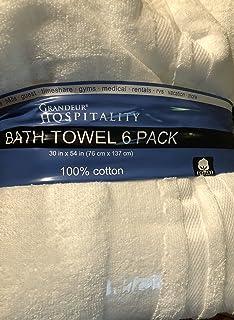Grandeur Hospitality Bath Towel 6 Pack 30