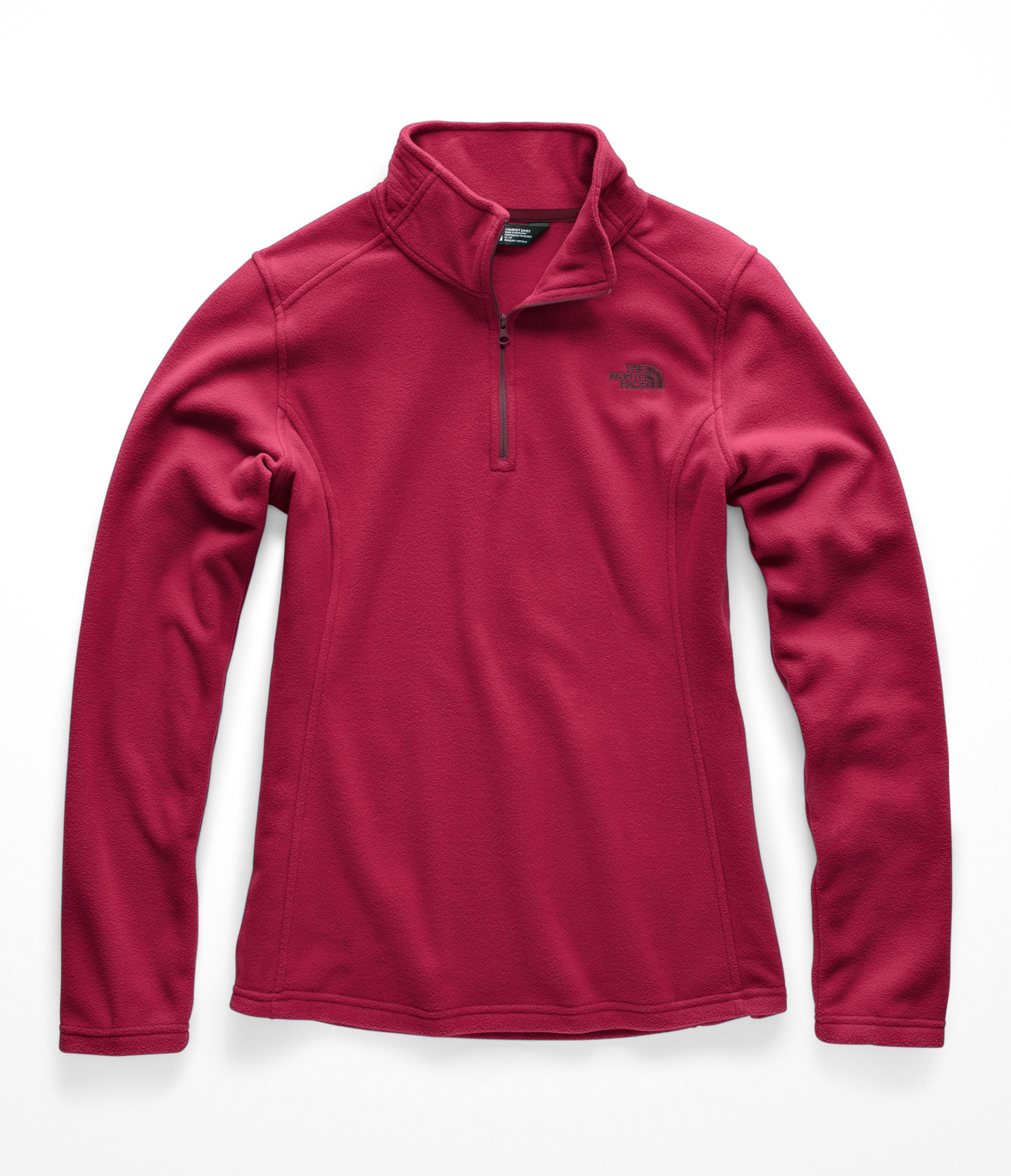 The North Face Women Glacier 1 & 4 Zip - Rumba Red - M
