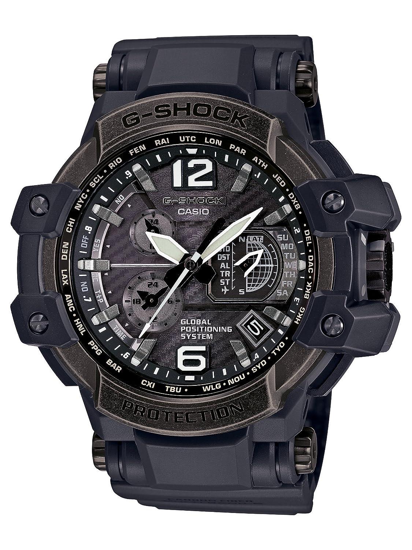 [カシオ]CASIO 腕時計 G-SHOCK GRAVITYMASTER GPSハイブリッド電波ソーラー エイジド加工ベゼルモデル GPW-1000V-1AJF メンズ B0107PJK30