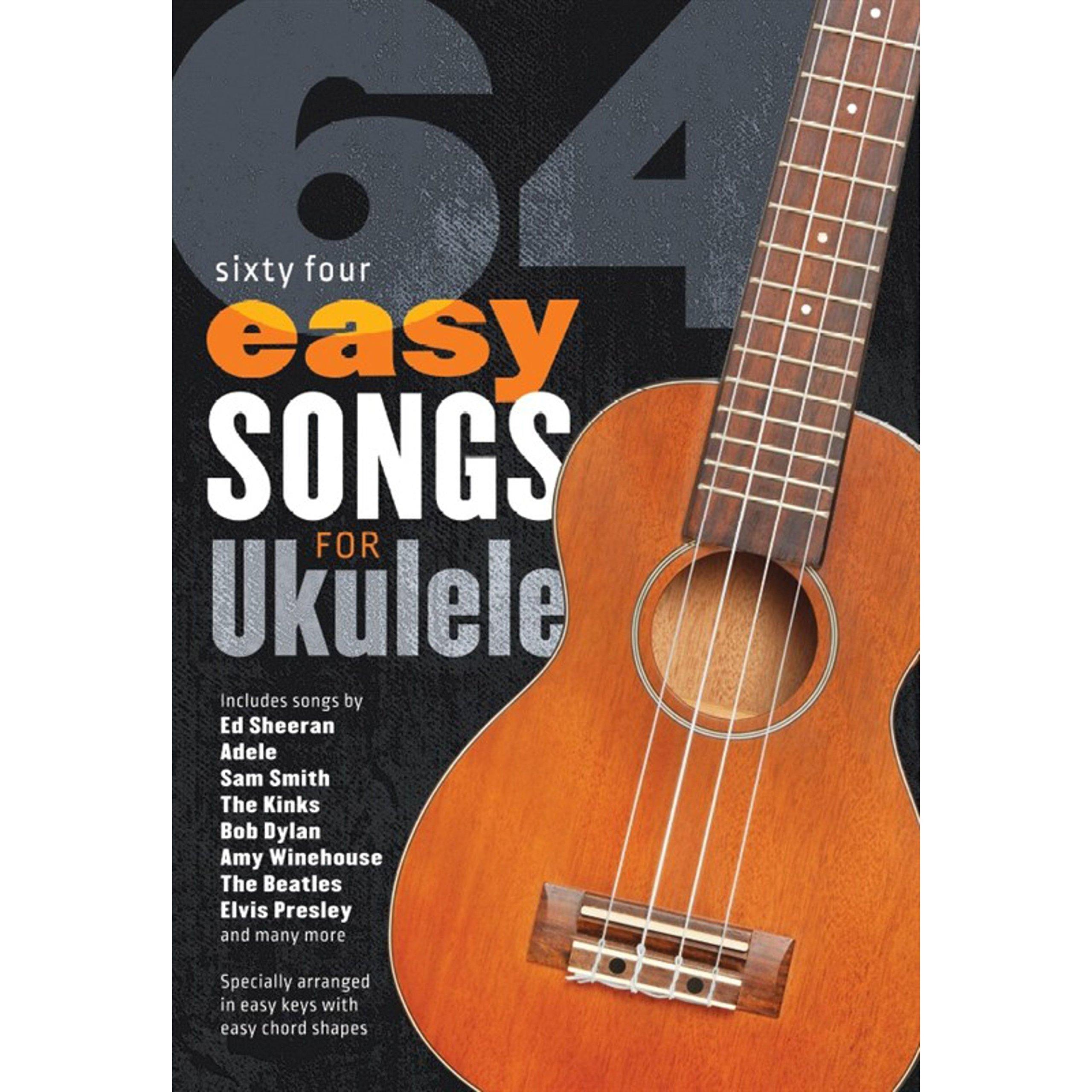 64 Easy Songs For Ukulele: Amazon co uk: Various: Books
