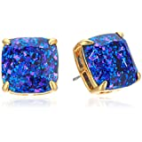 Amazon Price History for:kate spade new york Small Square Studs Blue Multi-Glitter Stud Earrings