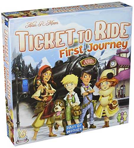 Days of Wonder DOW720027 Ticket to Ride Europe: First Journey
