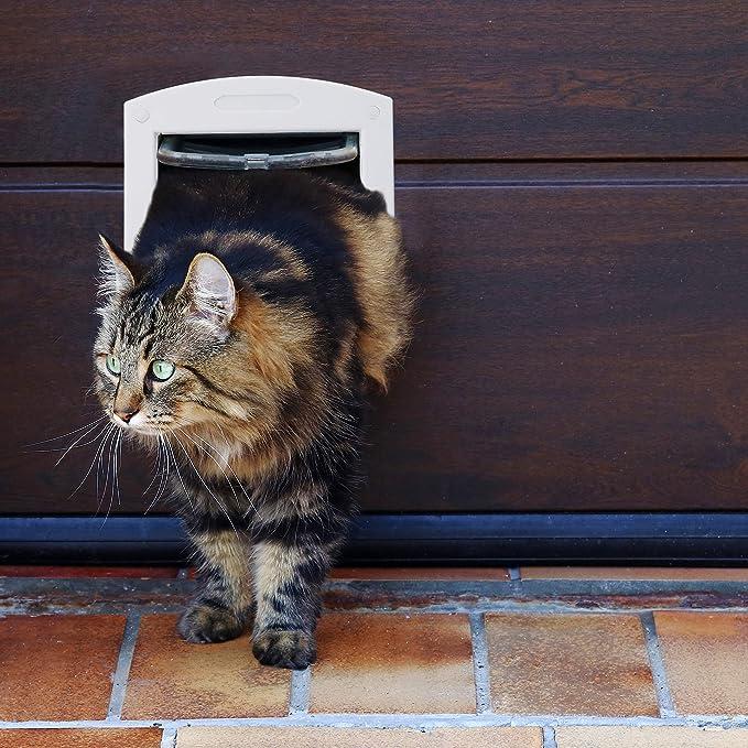 Relaxdays 10024155_49 Mascota/Gatos/Perro clásico para Gatos y Red Exterior: Amazon.es: Productos para mascotas