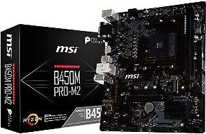 Amazon com: MSI Gaming AMD Ryzen B350 DDR4 VR Ready HDMI USB 3 CFX