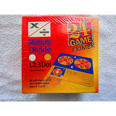 24 Game Multiply/Divide Primer: Toys & Games