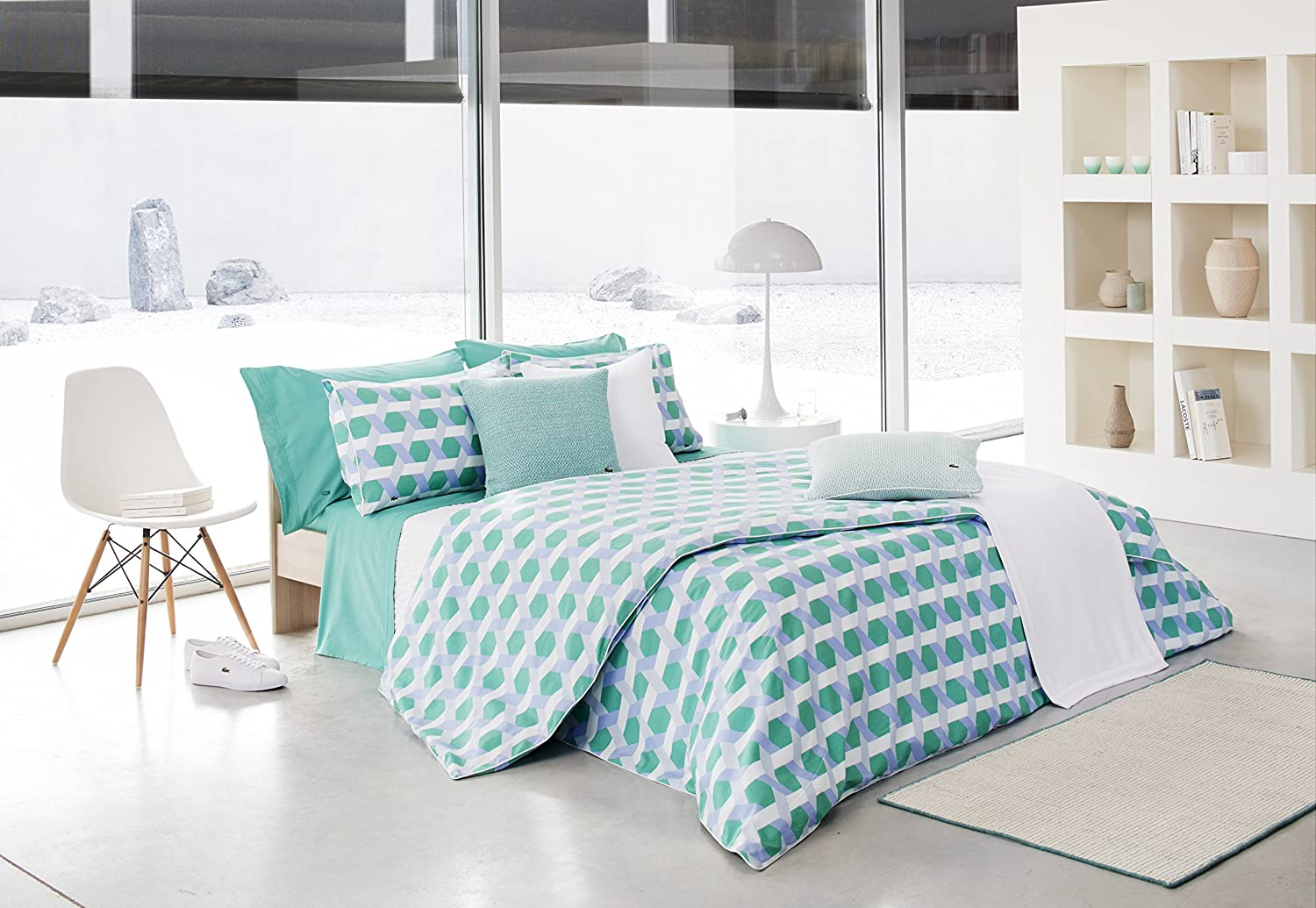 Lacoste Daunou Duvet Set Full//Queen