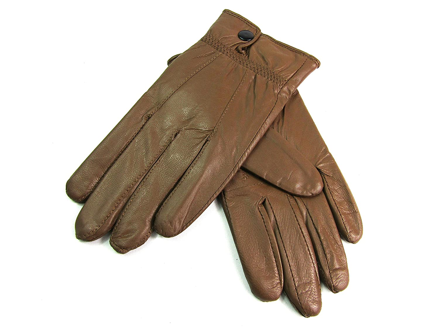 Blue leather gloves ladies uk - Ladies New Soft Leather Fully Lined Gloves By Lorenz 8910 Small Brown Amazon Co Uk Clothing