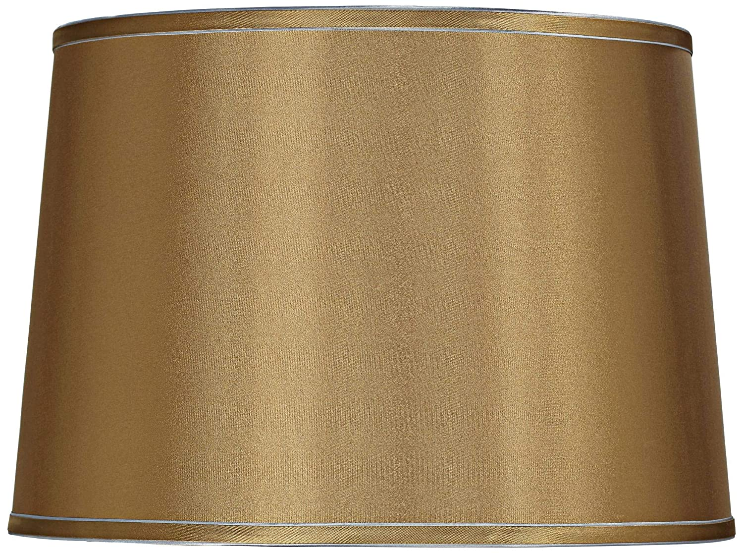 Sydnee Gold with Silver Trim Drum Shade 14x16x11 (Spider)