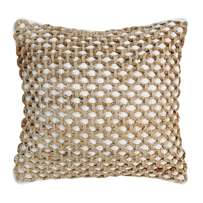Amazon.com: Boho Living Jada Decorative Pillow, White: Home & Kitchen