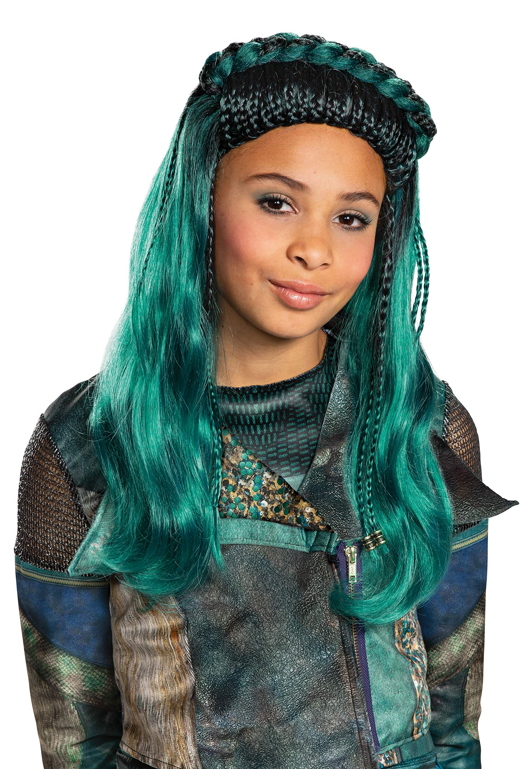 Disguise Descendants 3 Uma Wig Costume Accessory by Disguise