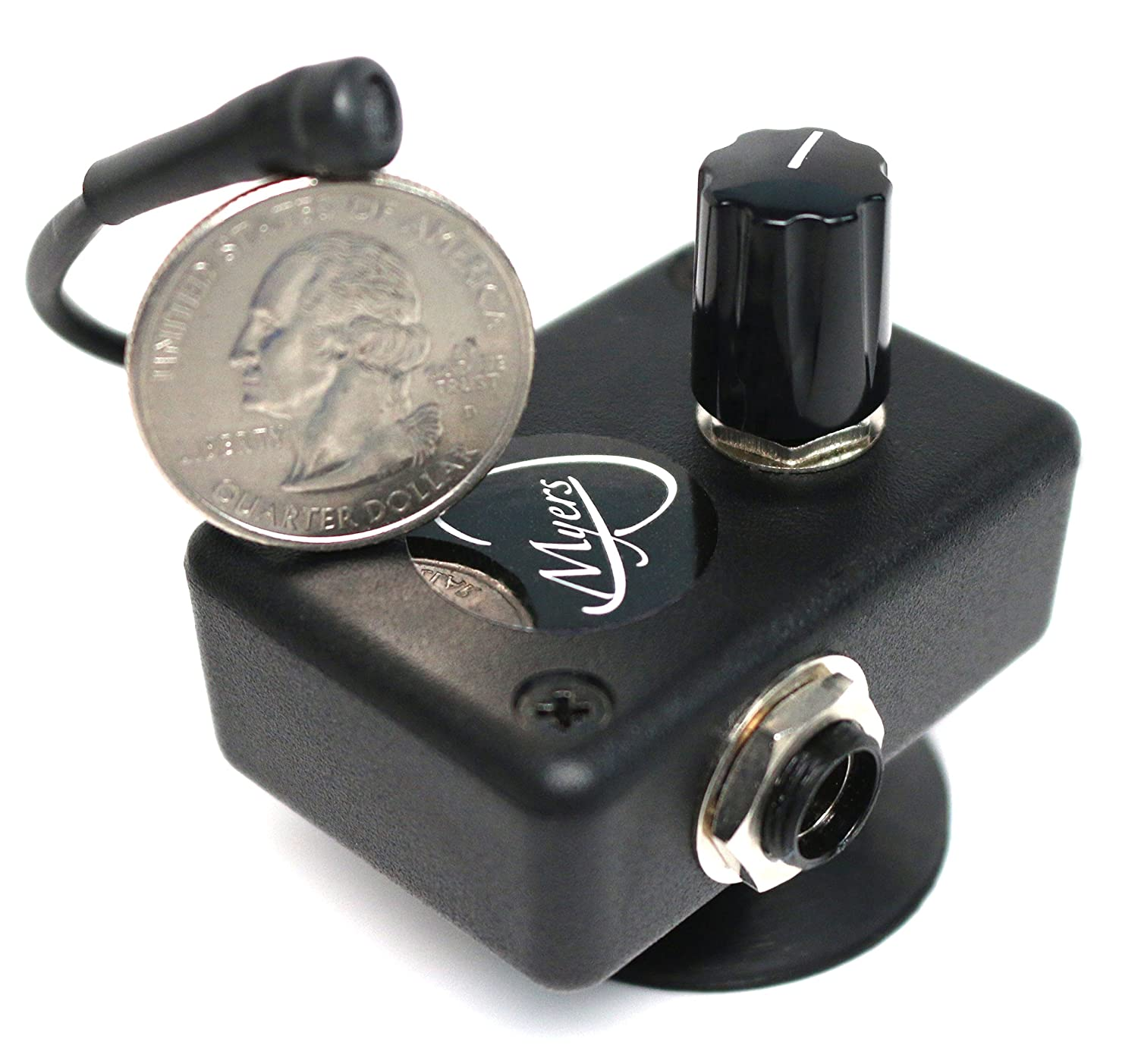 ARCHTOP MANDOLIN PICKUP with FLEXIBLE MICRO-GOOSE NECK by Myers Pickups ~ See it in ACTION! Copy and paste: myerspickups.com 22