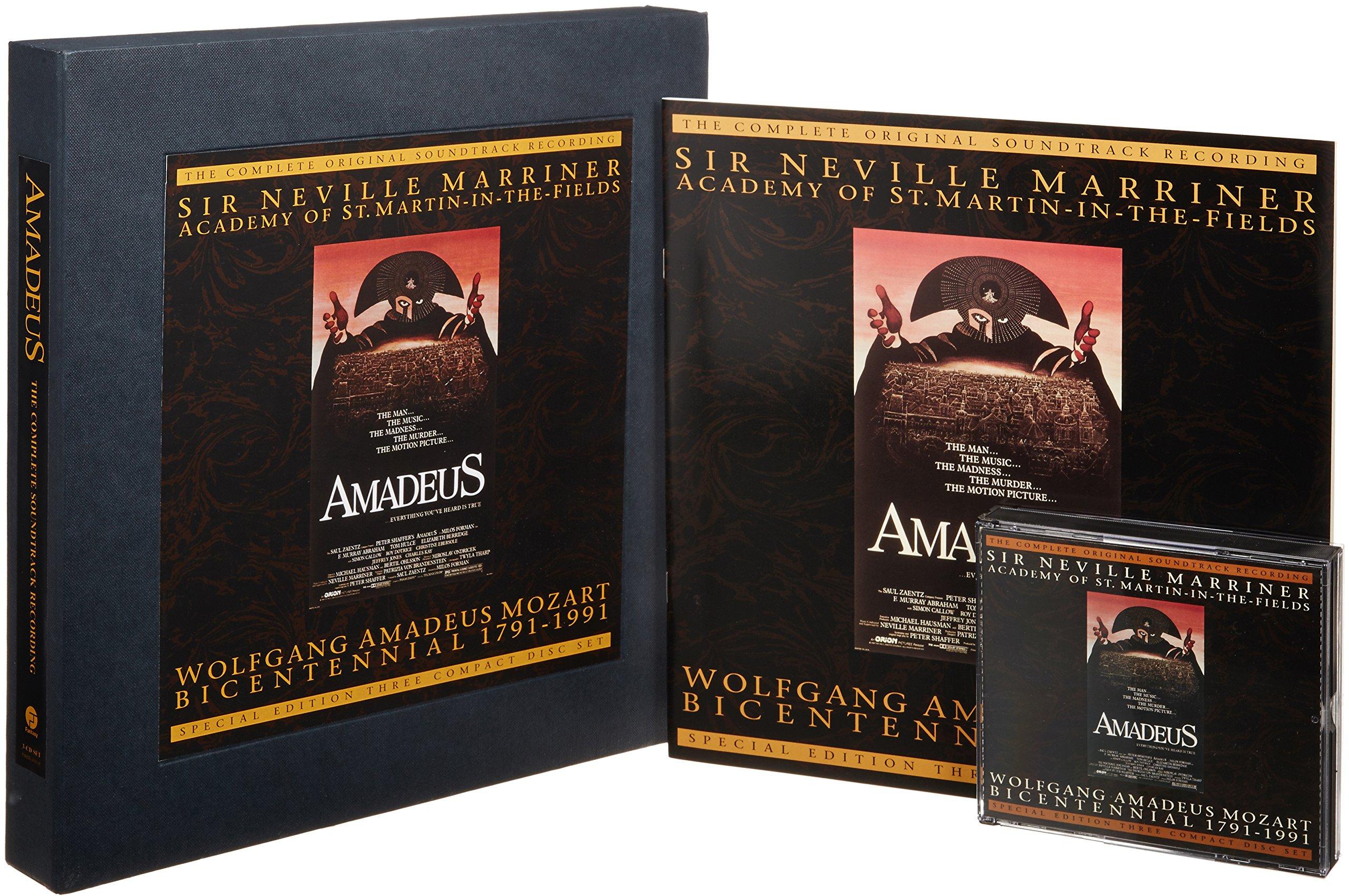 Amadeus: The Complete Original Soundtrack Recording by Fantasy