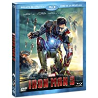 Iron Man 3 (BR + DVD Combo Pack) [Blu-ray]