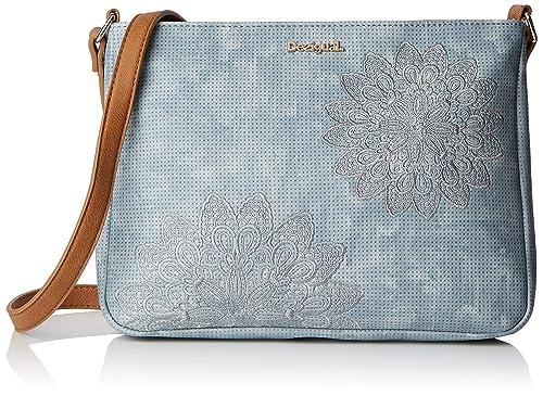 klar in Sicht Shop für neueste klassischer Chic Desigual Damen Bag Atila Espot Women Umhängetasche, 5x22.7x30 cm
