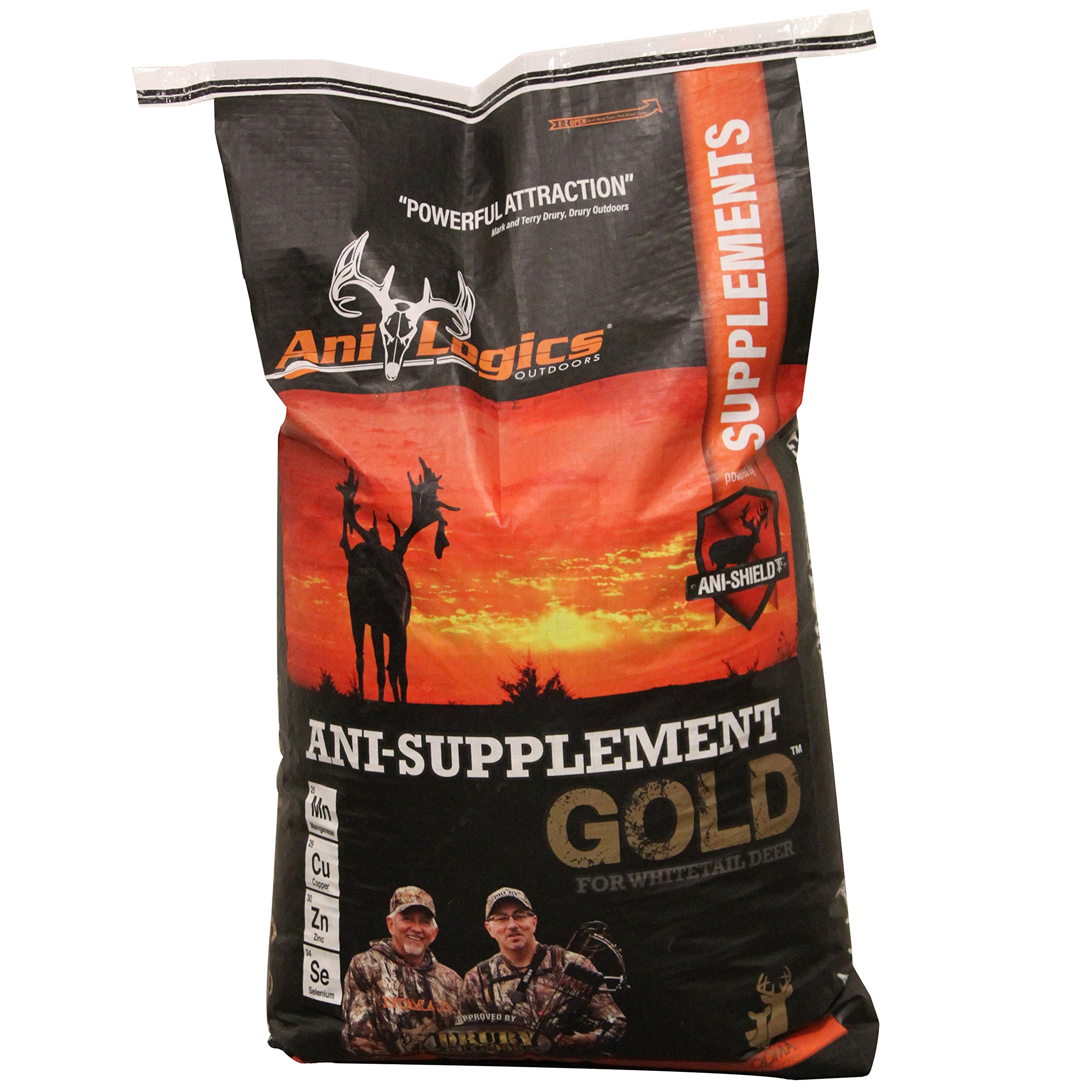 Ani-Logics Outdoors Ani-Supplement GOLD 50lbs