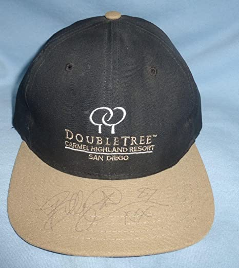 5ffdd1a878c Image Unavailable. Image not available for. Color  Billy Davis Signed  Football Golf Hat ...