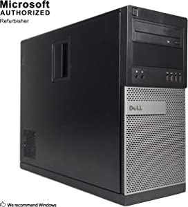 DELL OPTIPLEX 7020 TOWER Desktop Computer,Intel Core I5-4570 3.2GHz up to 3.6GHz, 8GB DDR3, 120GB SSD+2TB, DVD, WIFI,HDMI,VGA,Display Port, USB 3.0, Bluetooth 4.0, Win10Pro64 (Renewed)