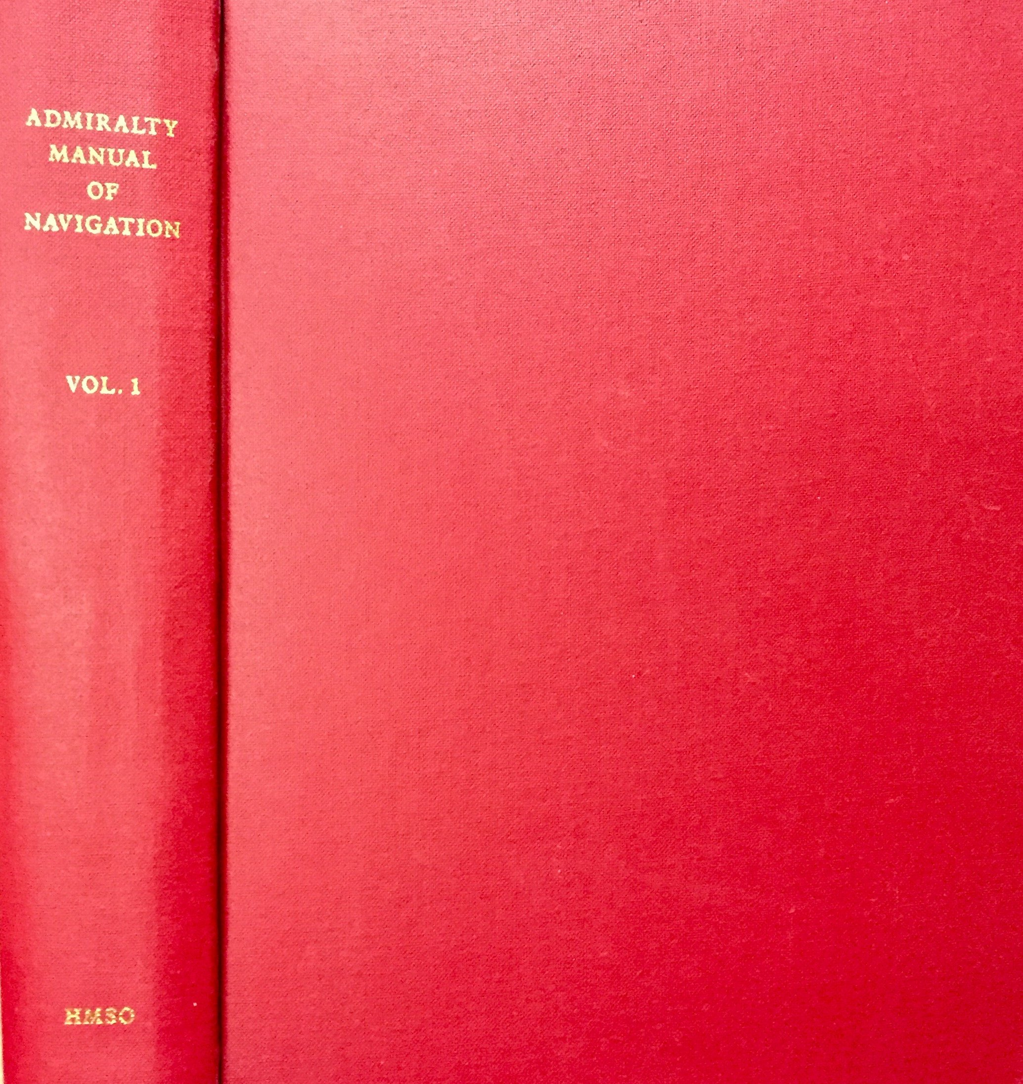 Admirality Manual of Navigation: Vol.1: Br 45(1): Br 45(1): Great Britain:  9780117714687: Amazon.com: Books