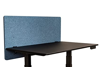 ReFocus Acoustic Rear Mount Desk Dividers | Desk Privacy Panel U2013 Reduce  Noise And Visual Distractions