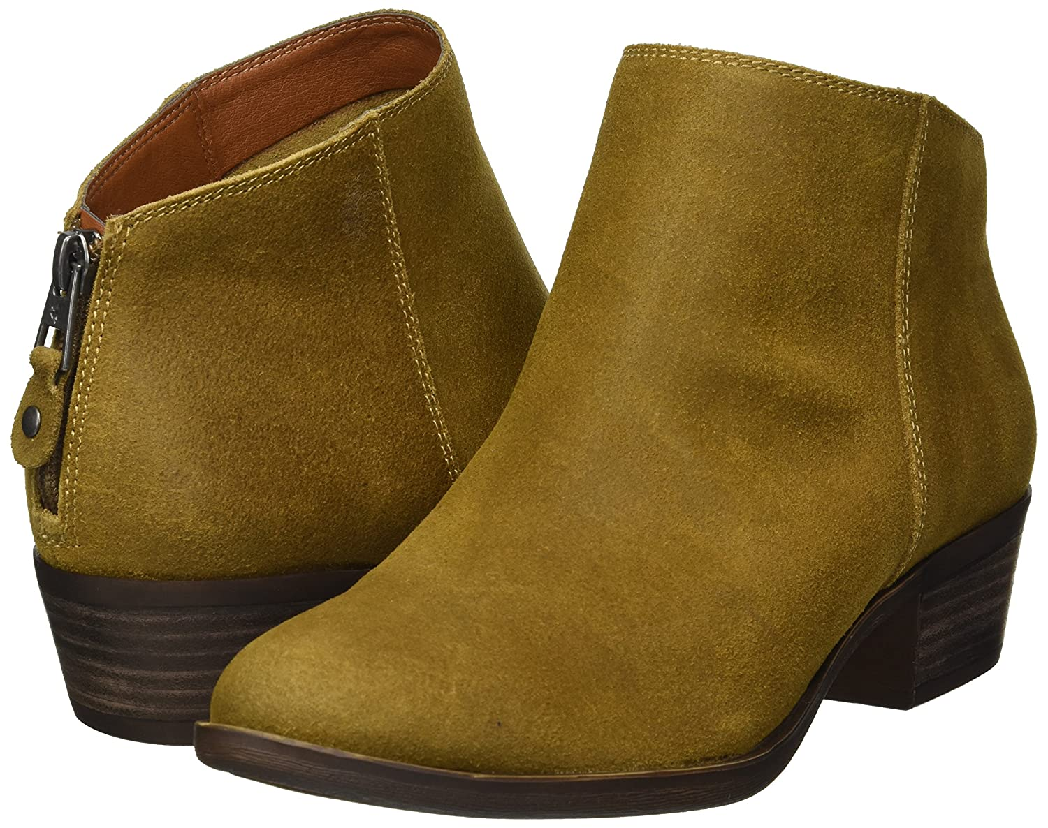 Lucky Brand Women's Bremma Ankle Boot B07C8BX2LM 11 M US|Tapenade