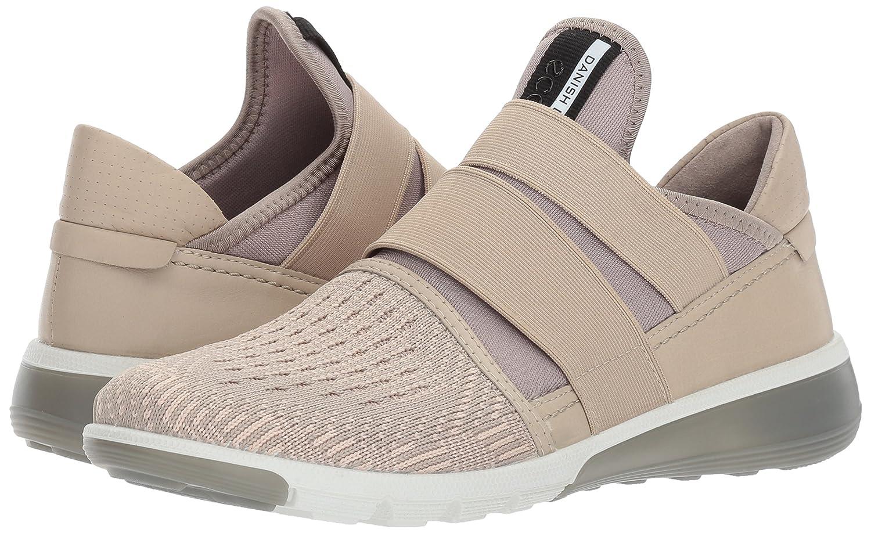 ECCO Women's Intrinsic 2 Band Fashion Sneaker B01M68I1TR 35 EU / 4-4.5 US|Oyester/Oyester-rose Dust