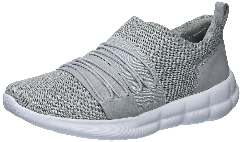 Under Armour Women's Slouchy Slip Sneaker B071LHCQRQ 5 M US Overcast Gray (104)/White