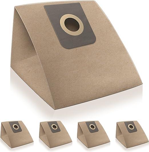✧WESSPER® Bolsas de aspiradora para Nilfisk GM415 (5 piezas, papel): Amazon.es: Hogar