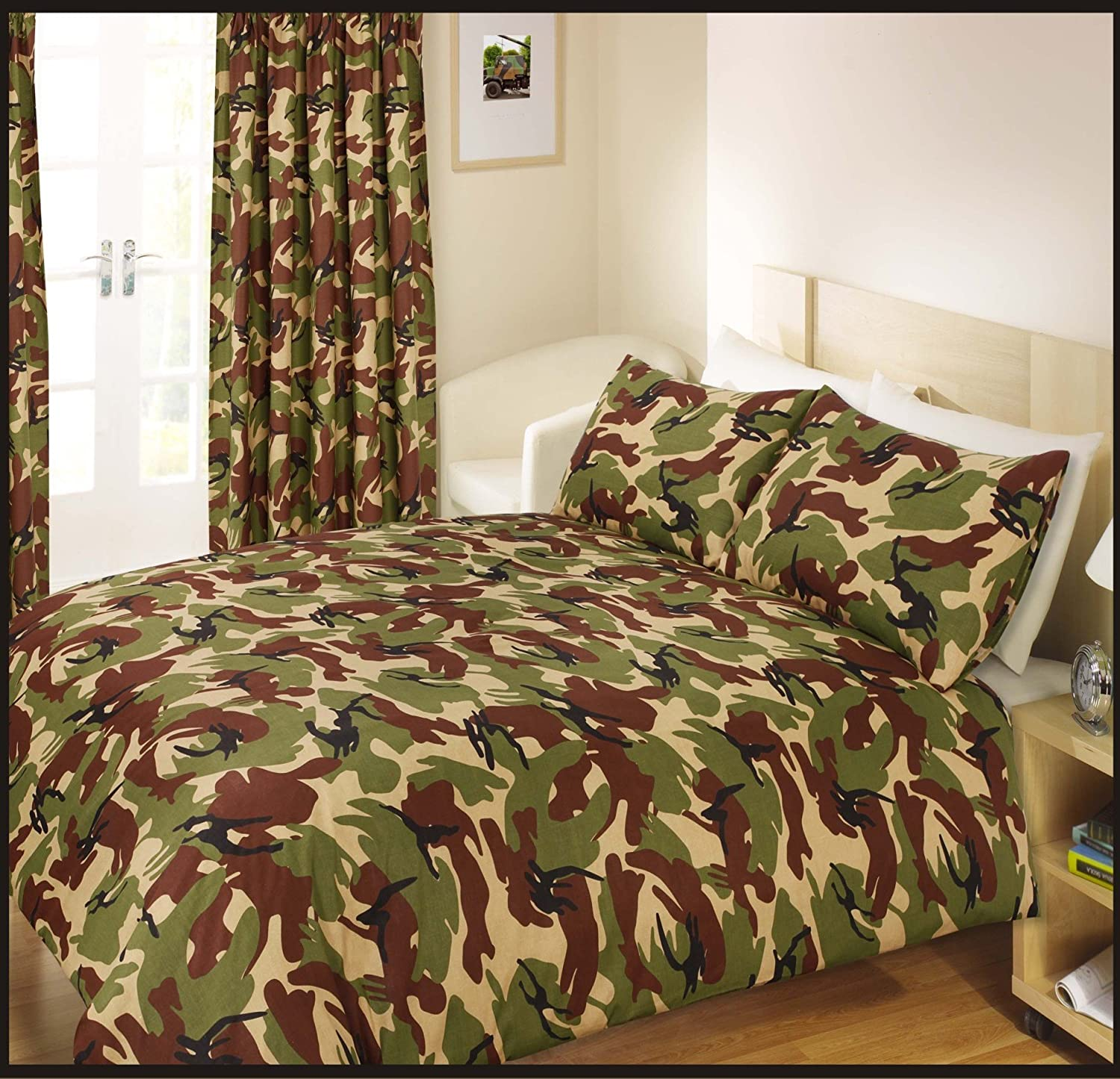 walmart ip comforter timber pine green mixed com true set bedding bed camo