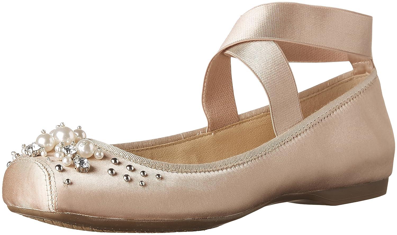 Jessica Simpson Women's Mineah Ballet Flat B075MRK1D8 10 B(M) US|Nude Blush