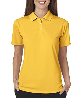 02ab8d49 Ultraclub 8445L Ladies' Cool & Dry Stain-Release Performance Polo at Amazon  Women's Clothing store: