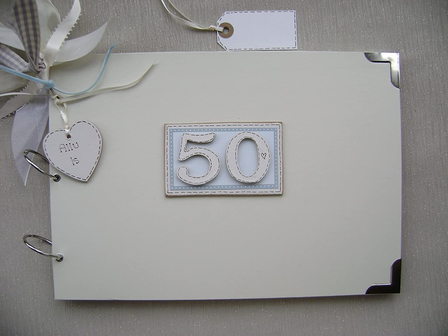 A4 20 PAGES 18th BIRTHDAY PERSONALISED GIFT HIGH QUALITY MEMORY BOOK MULTI USE GUEST SCRAPBOOK PHOTO ALBUM