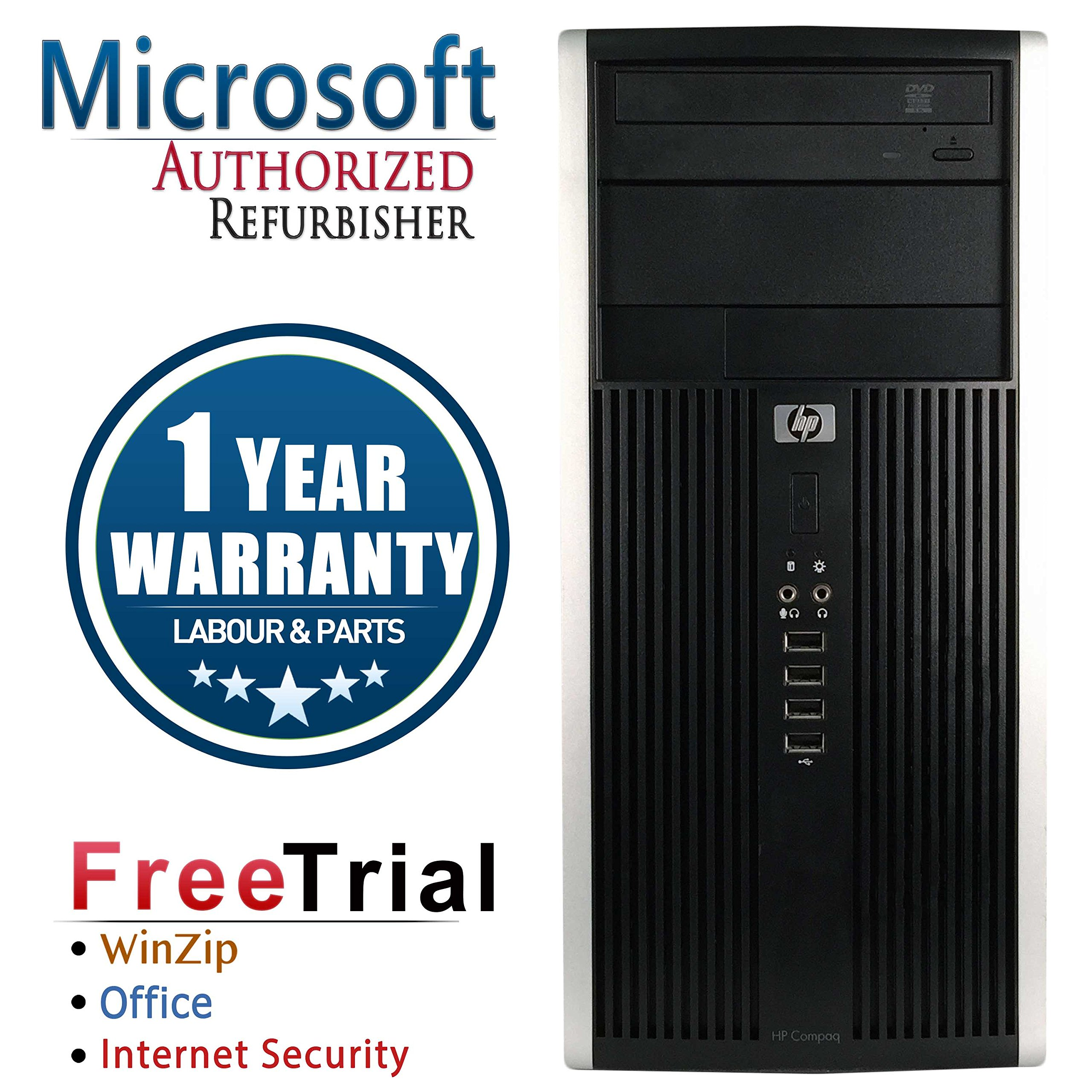 HP 6000 PRO Business High Performance Tower Desktop Computer PC (Intel C2D E8400 3.0G,8G RAM DDR3,1TB HDD,DVD-ROM,Windows 10 Professional)(Certified Refurbished) by AST Computer (Image #1)