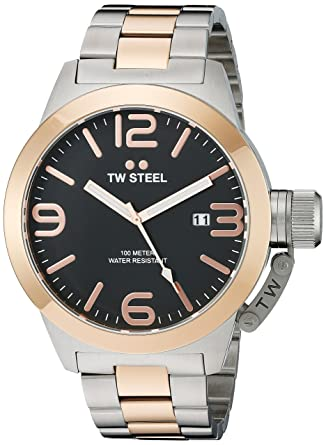 615359351276 Amazon.com  TW Steel Men s CB132 Analog Display Quartz Two Tone ...