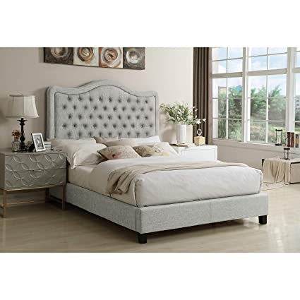 17aefbc5b8e4 Image Unavailable. Image not available for. Color: Rosevera Turin Tufted  Upholstered Headboard, King ...