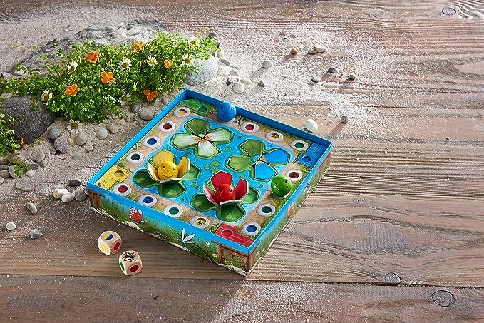 Haba Juego de Mesa Ranas Saltarinas-ESP, Multicolor (H305275): Amazon.es: Juguetes y juegos