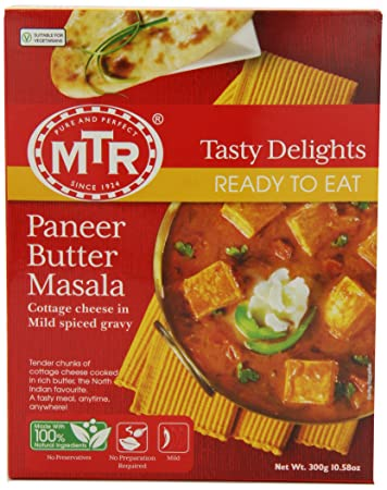 MTR Paneer Butter Masala  10 58 Ounce Boxes  Pack of 10 Amazon com   MTR Paneer Butter Masala  10 58 Ounce Boxes  Pack of  . Amazon Kitchens Of India Butter Chicken. Home Design Ideas