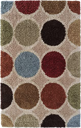 Surya Concepts CPT-1716 Contemporary Machine Made 100 Heat-Set Polypropylene Antique White 7 10 x 10 10 Geometric Area Rug