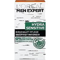 L'Oréal Paris Män Expert ansiktsvård för män, ansiktskräm utan alkohol eller parabener, Hydra Sensitive fuktkräm, 1 x 50…