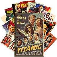 HK Studio Vintage Posters of Classic Movie   Self-Adhesive, Vinyl Decal, Indie Posters for Room Aesthetic 90s   Indie…