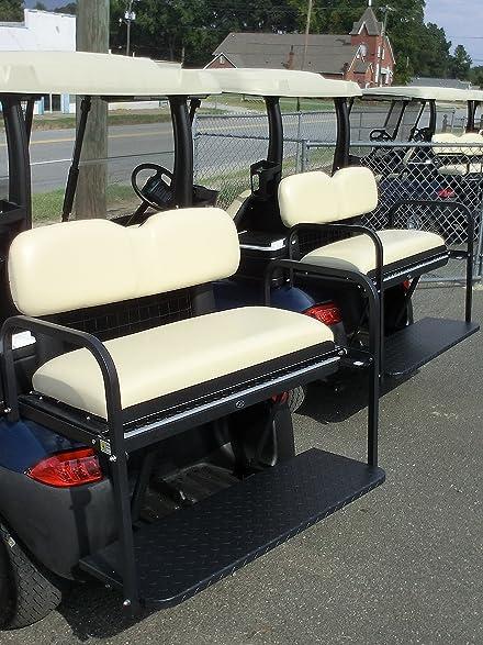 Amazon.com: Golf Cart Rear Flip Seat for Club Car Precedent Buff ...