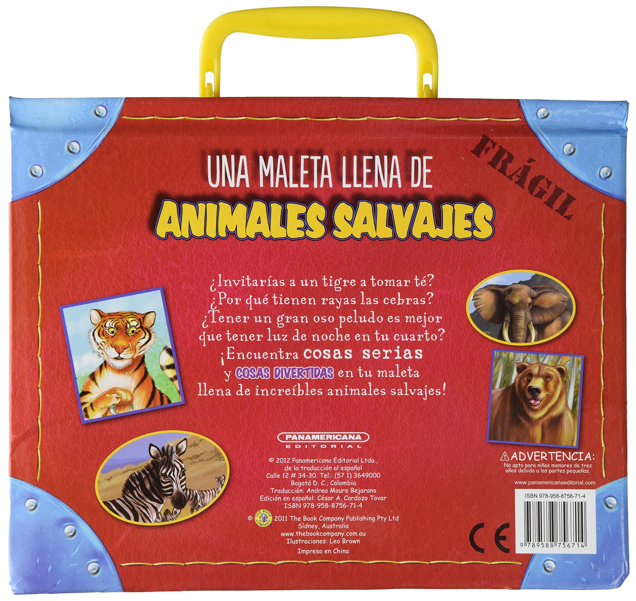 Una Maleta Llena De Animales Salvajes: Varios: 9789588756714: Amazon.com: Books