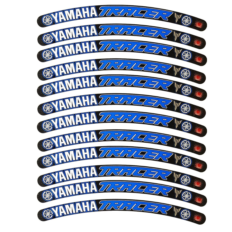 Yamaha Tracer Llanta Gr/áficos Negro Azul x 12?Pegatinas pegatinas