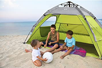 Wacces Fast Track 2-Person Dome Type Beach And Park Tent ( Green - Grey  sc 1 st  Amazon.com & Amazon.com : Wacces Fast Track 2-Person Dome Type Beach And Park ...