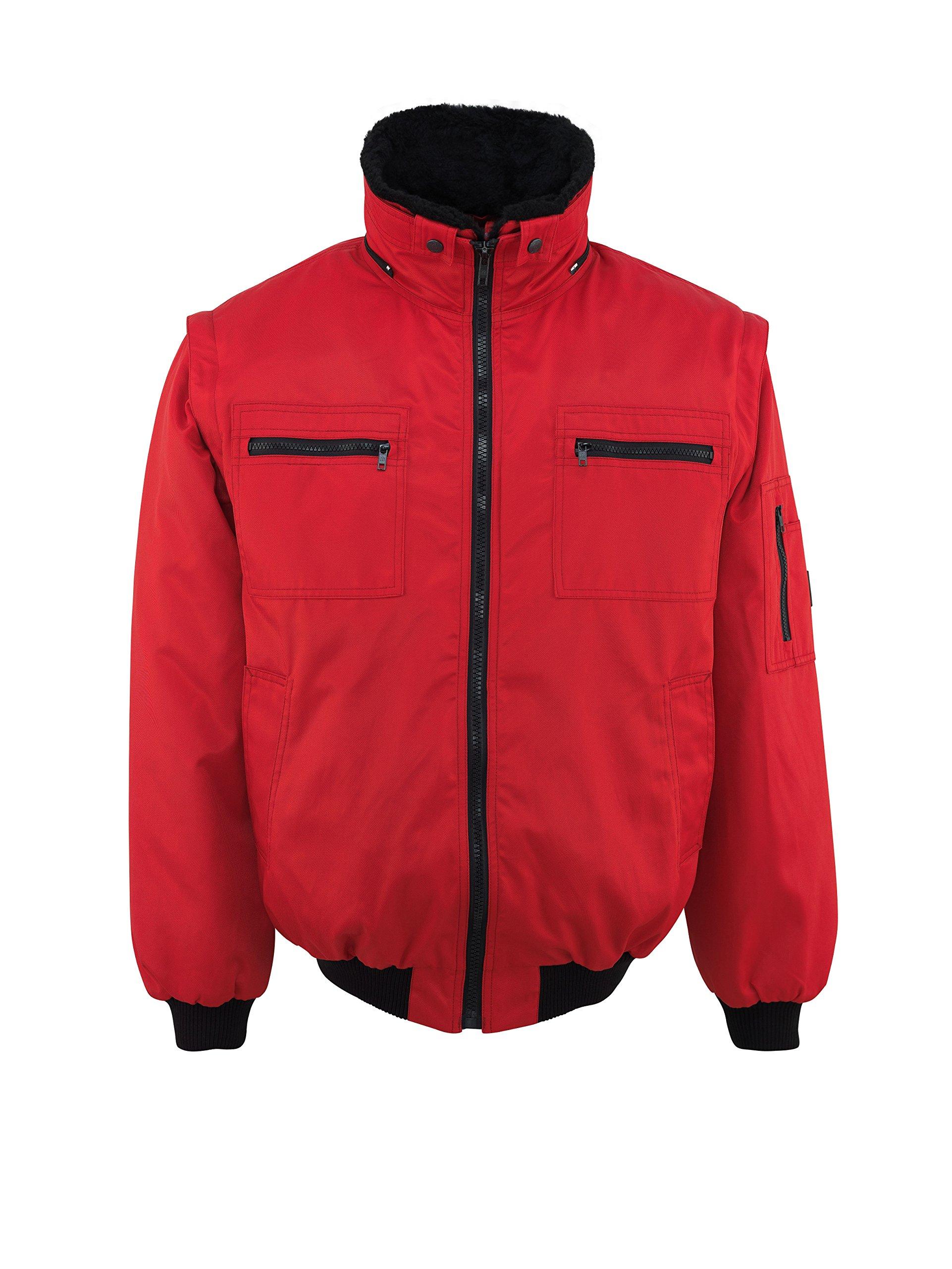 Mascot 00520-620-02-4XL''Innsbruck'' Pilot Jacket, 4X-Large, Red